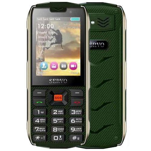 SERVO H8 4SIM Зеленый